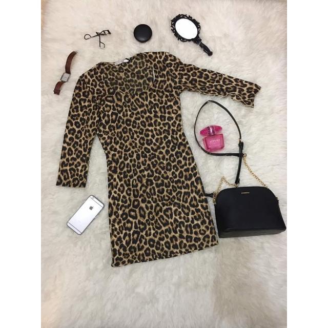 Dress Leopard Merk Stradivarius
