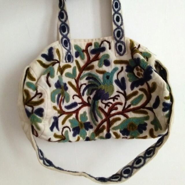Embroidered China Unbranded Bag - Preloved