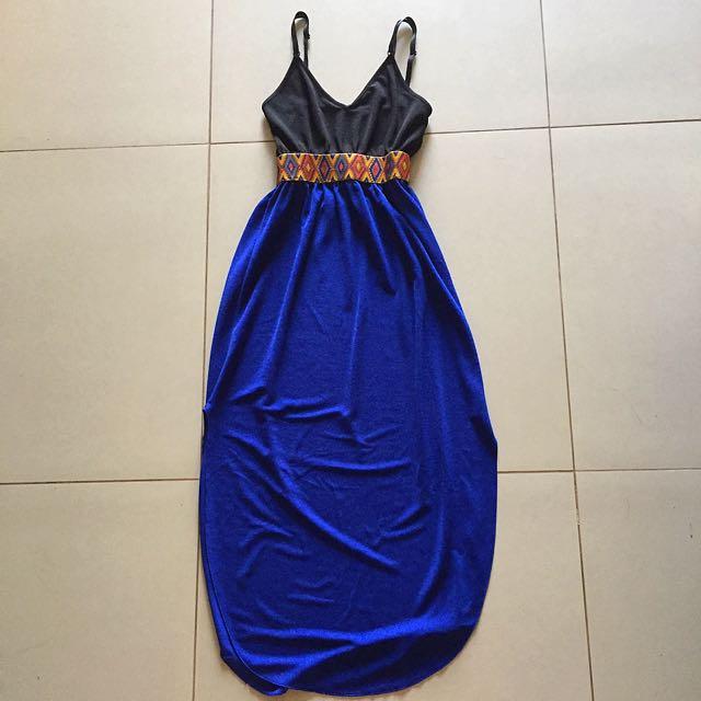 Empire-cut Maxi Dress