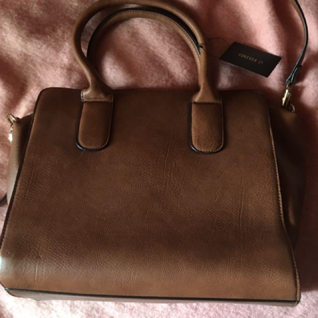 Essential Brown Shoulder Bag