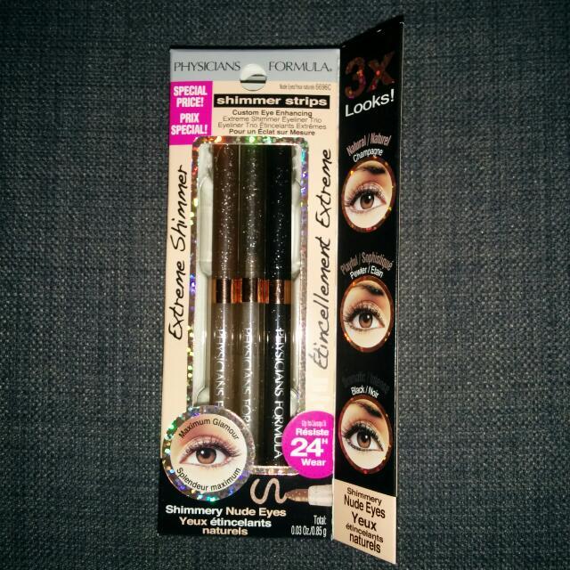 Concealer Palette And Eyeliner