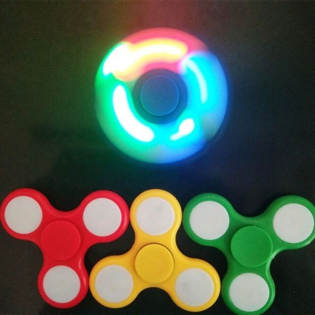 LED Light Fidget Hand Spinner