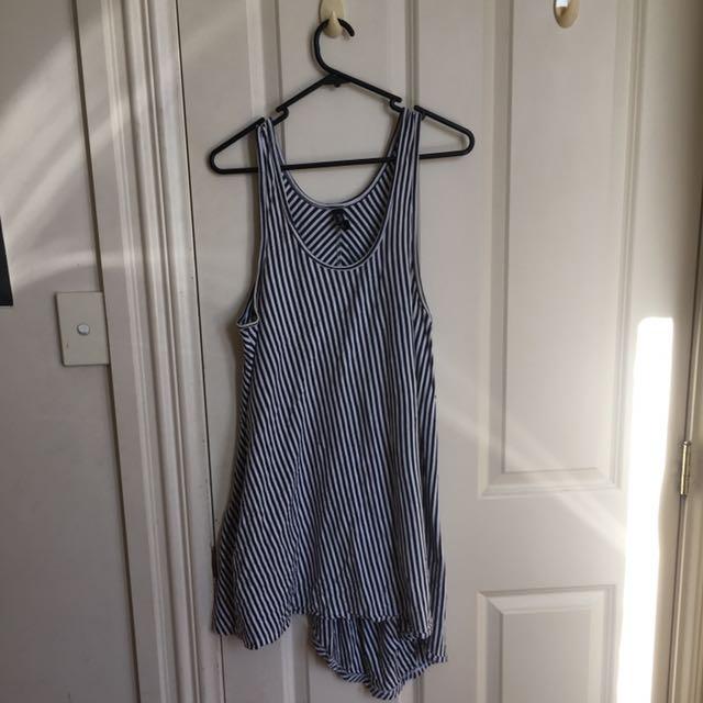 Five Each Striped Dress