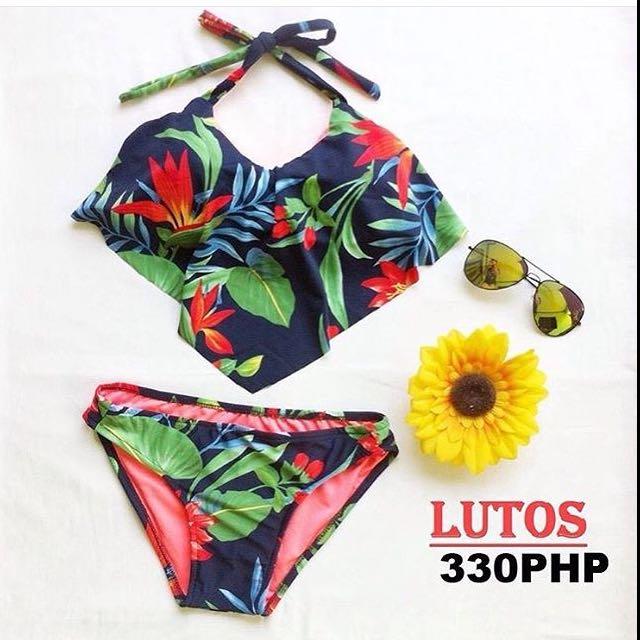 Floral Swimsuit 💜