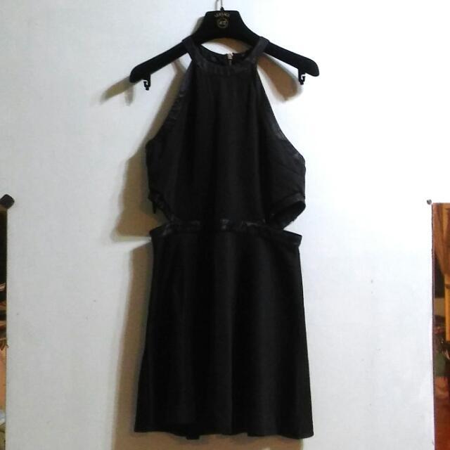 Forever21 黑色性感洋裝