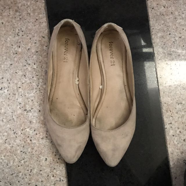 Forever 21 Nude Shoes