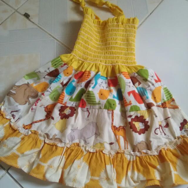 Garterized Dress
