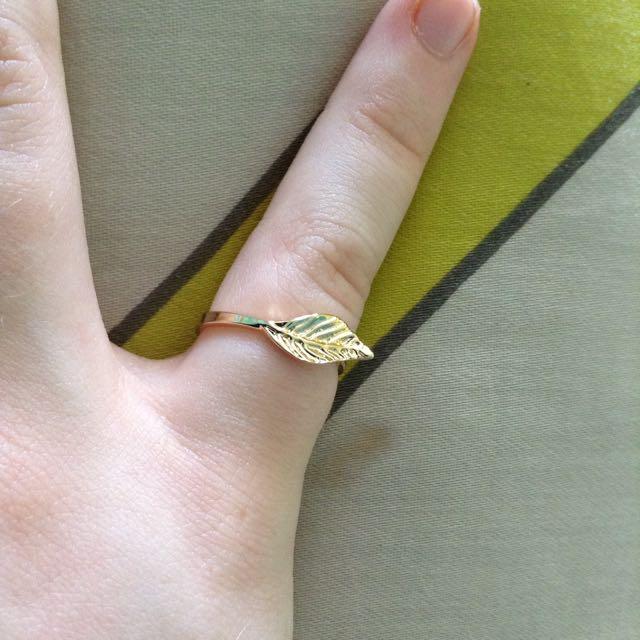 Gold Leaf Ring💍