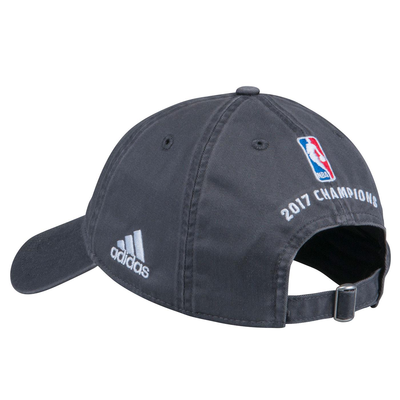905ee9f011f8c Golden State Warriors adidas 2017 NBA Finals Champions Authentic Locker  Room Cap - Grey