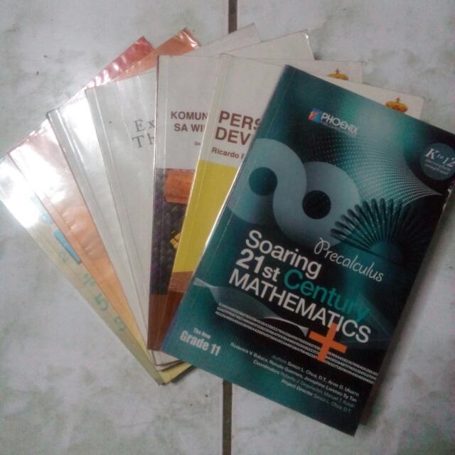 Grade 11 STEM Books (1st Semester)
