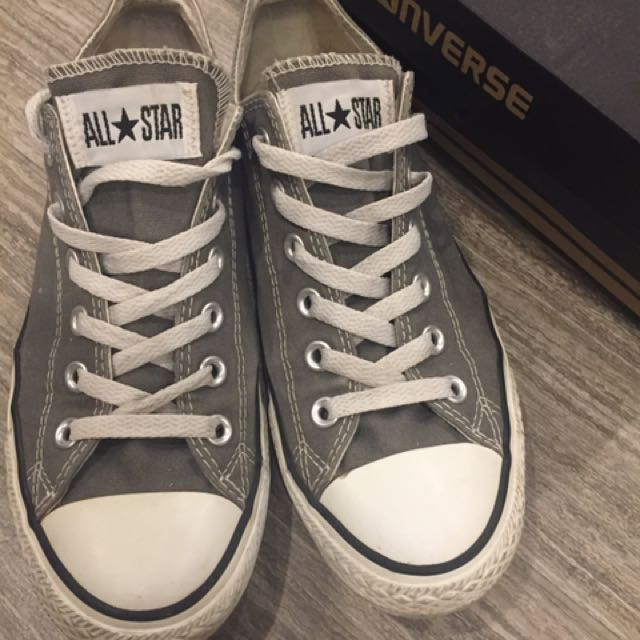 Grey Converse Size 9W