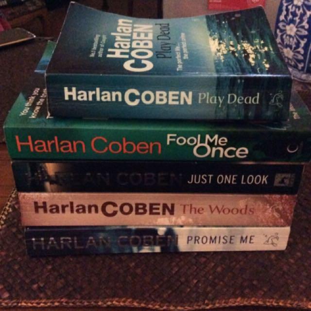 Harlan Coben  Novels X5