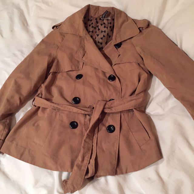 H&M 風衣短外套