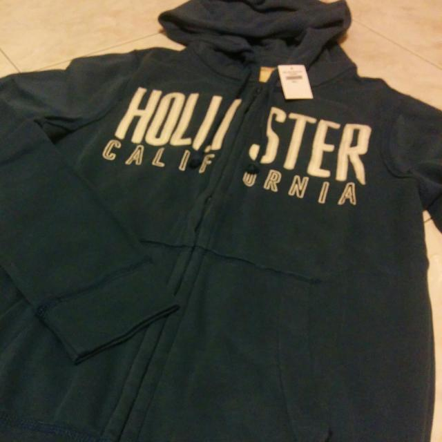 Hollister 洗舊連帽外套