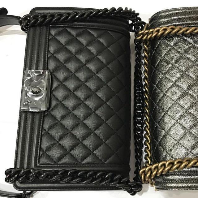 ca960c60141b I Want To Buy Chanel Boy So Black Caviar Old Medium, Luxury, Bags ...
