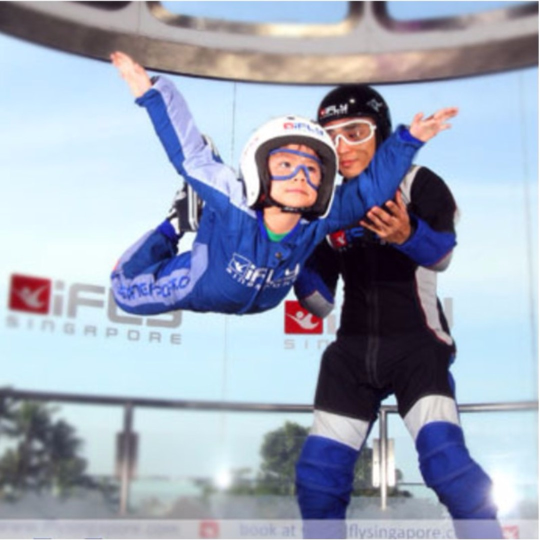 Ifly Entertainment Attractions On Carousell Singapore Adult Share This Listing
