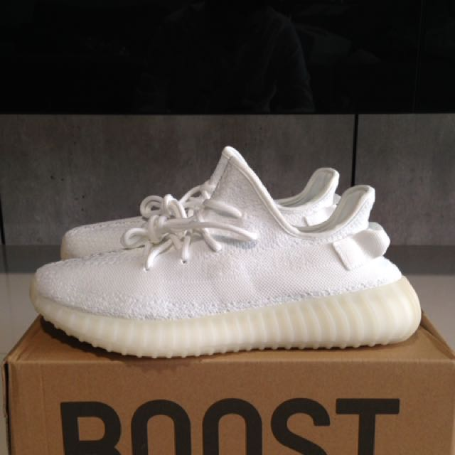 e34e097d4cbd0 INSTOCK Yeezy Boost 350 V2 Cream White Cocaine White Triple White PK ...