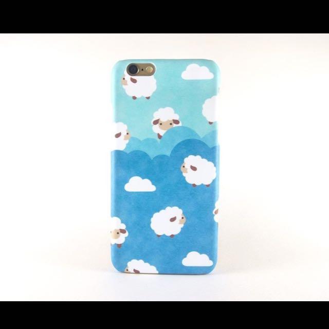 全新✨藍小綿羊iphone6/6s手機殼