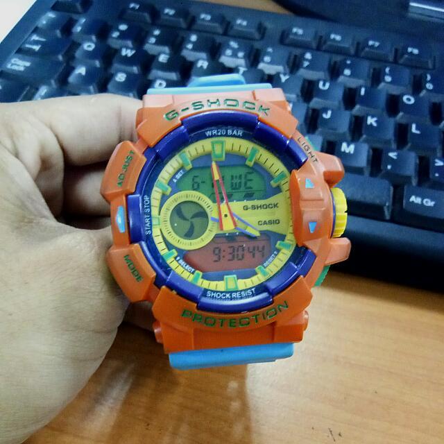 Jam Tangan G-Shock Mix Colour - NOT ORI
