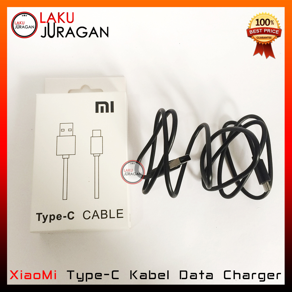 Kabel Data Charger XiaoMi Type C Casan Mi5 Mi5 Plus MiPad 2 Mi4C Mi4S Fast Charging