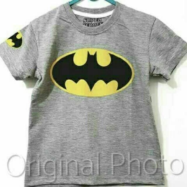 Kaos Anak Batman 002