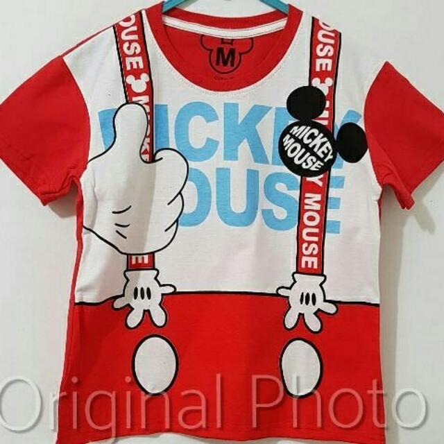 Kaos Anak Mickey 002