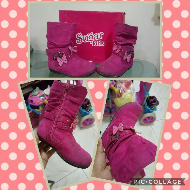 Kids Boots (Pink)