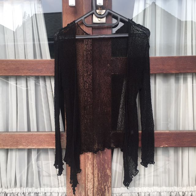 Knit Black Outer