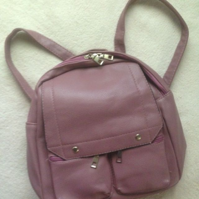Korean Bag Nude Pink