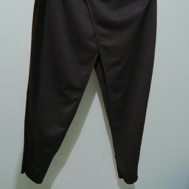 Layer Black Pants