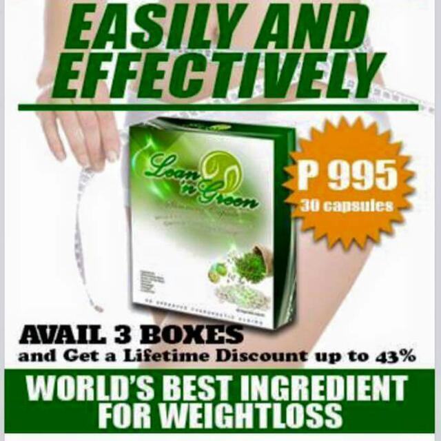 Lean N Green Slimming Capsule