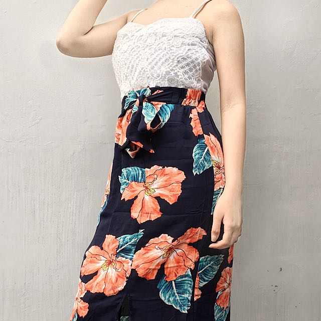 LONG SKIRT COLOURBOX