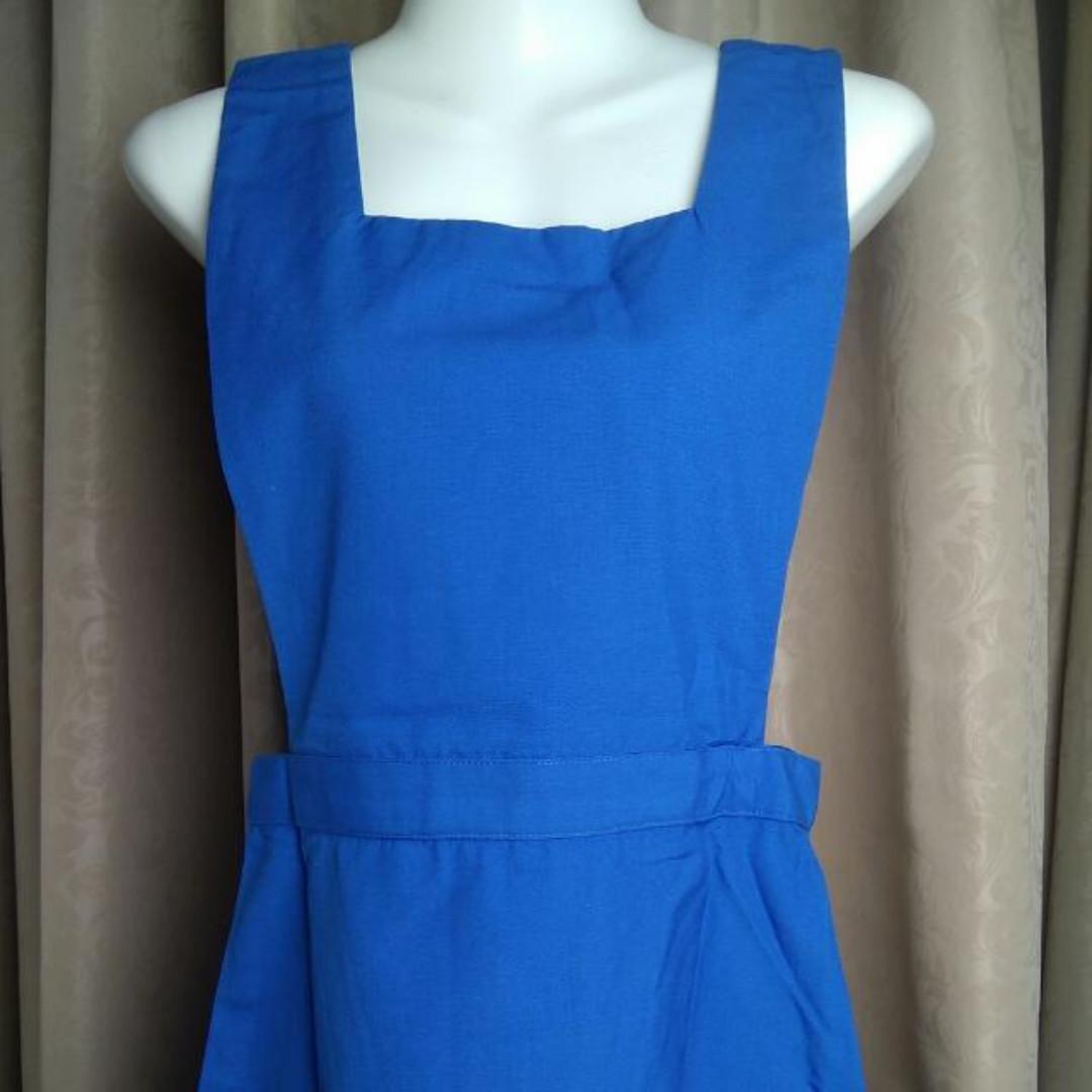 e47a861fa0ec Malaysia Secondary School Girl Uniform Pinafore, Women's Fashion ...