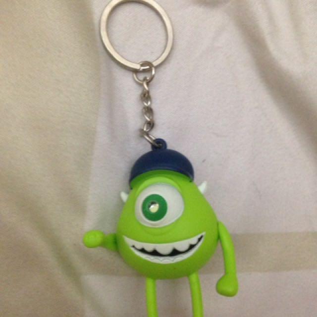 Mike Wazowski keychain