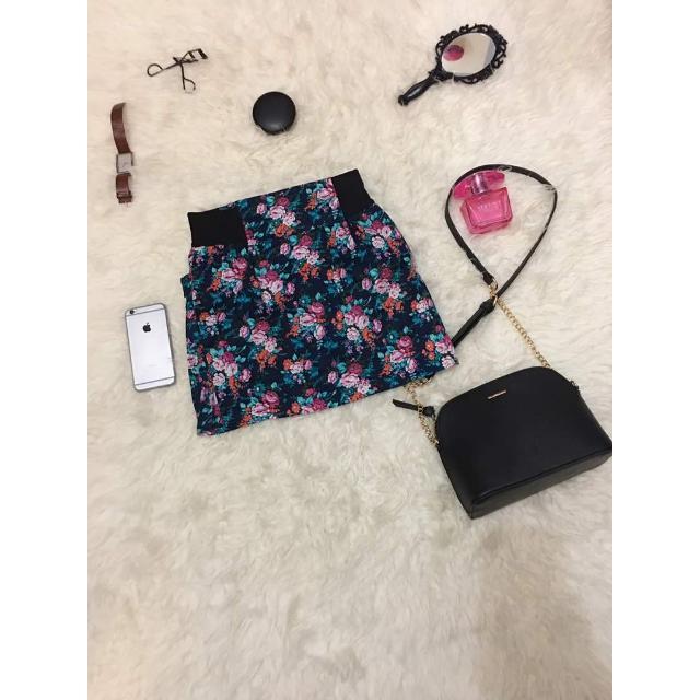 Mini Skirt Flower / Rok Bunga