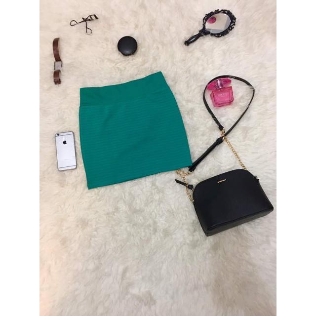 Mini Skirt Green / Rok Hijau