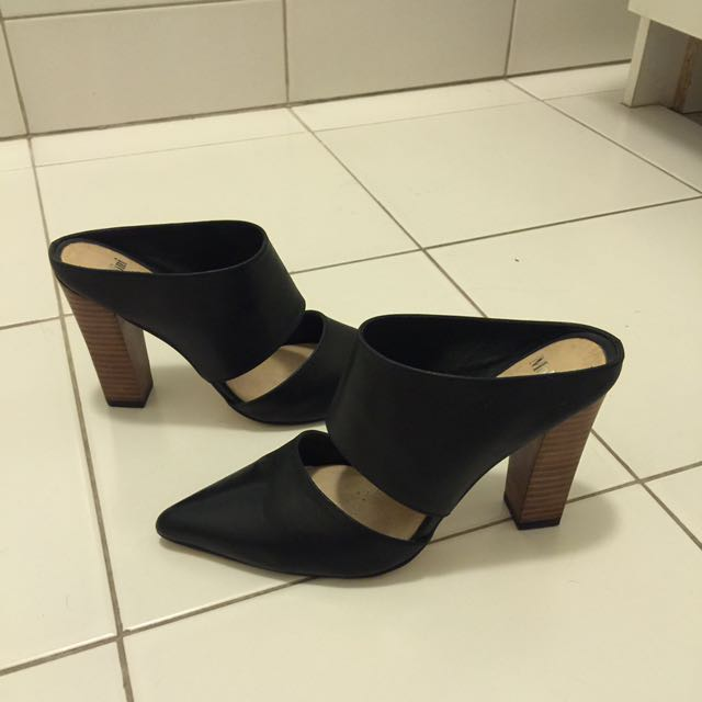MOLLINI Leather Mules Size 38