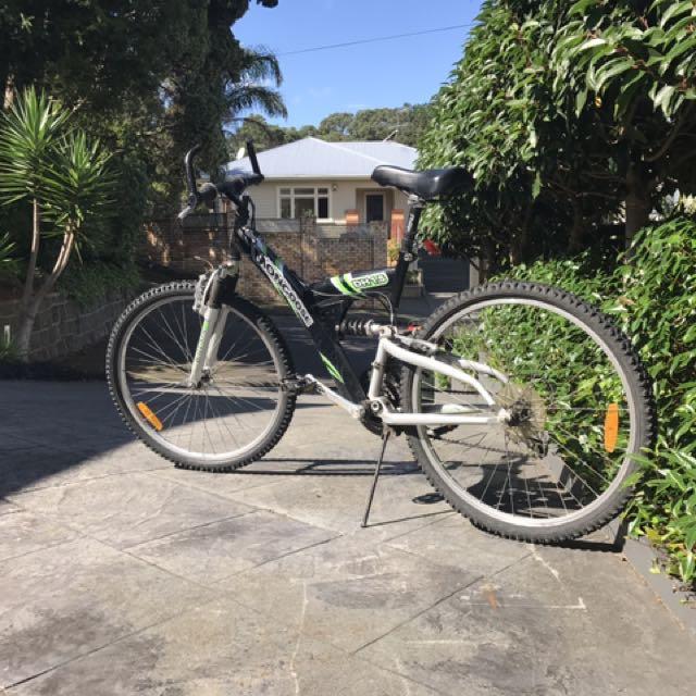 Mountain Bike Two Suspension 21 Speeds