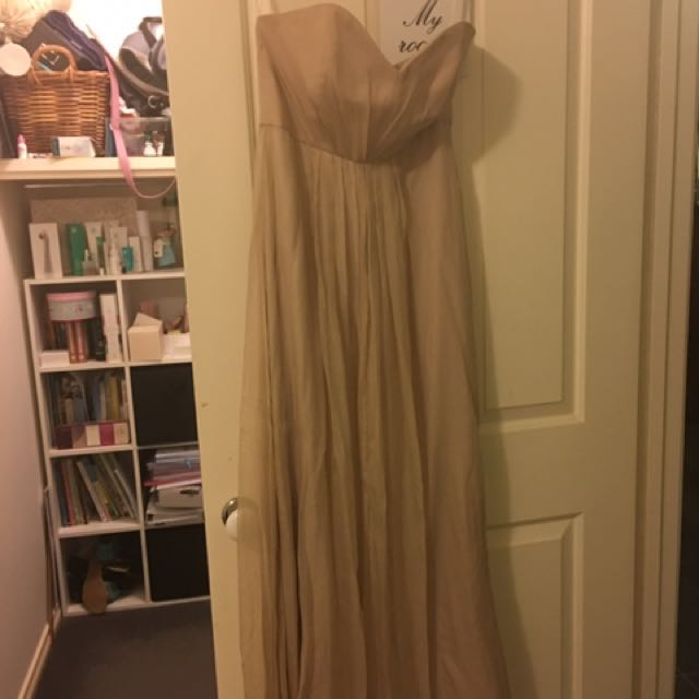 Nude Formal Dress