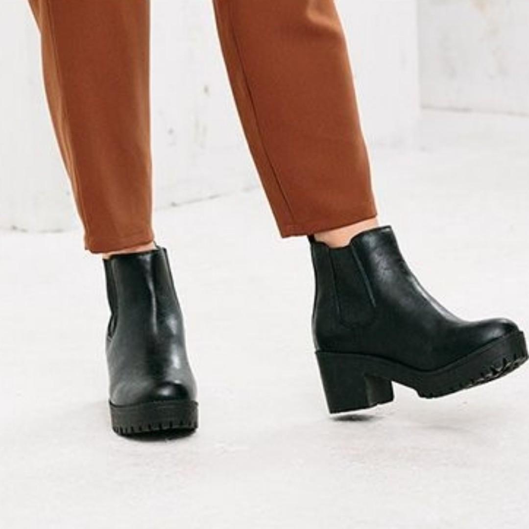 NUOVO 皮質短靴 ABC-MART 裸靴