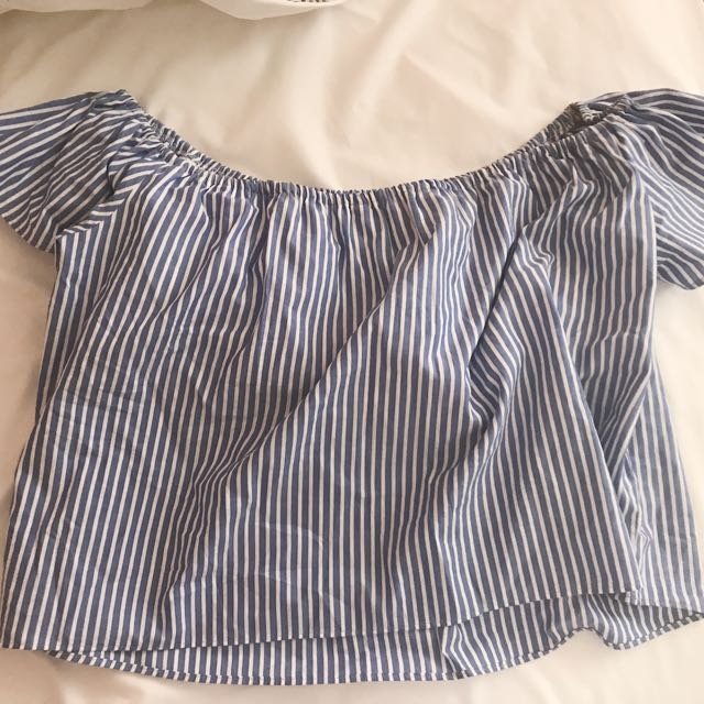 Off The Shoulder Zara Striped Top