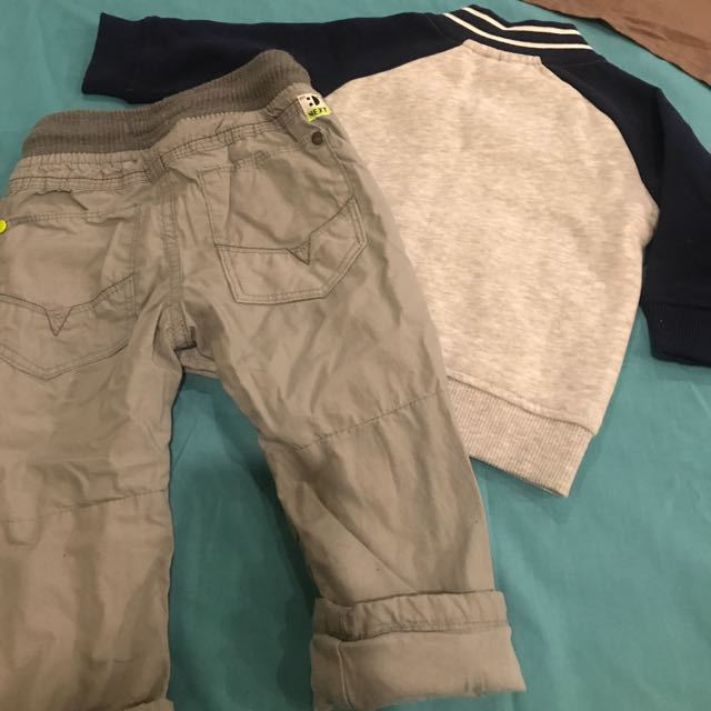 Original Timberland Baby Jumper, With Bonus Jeans