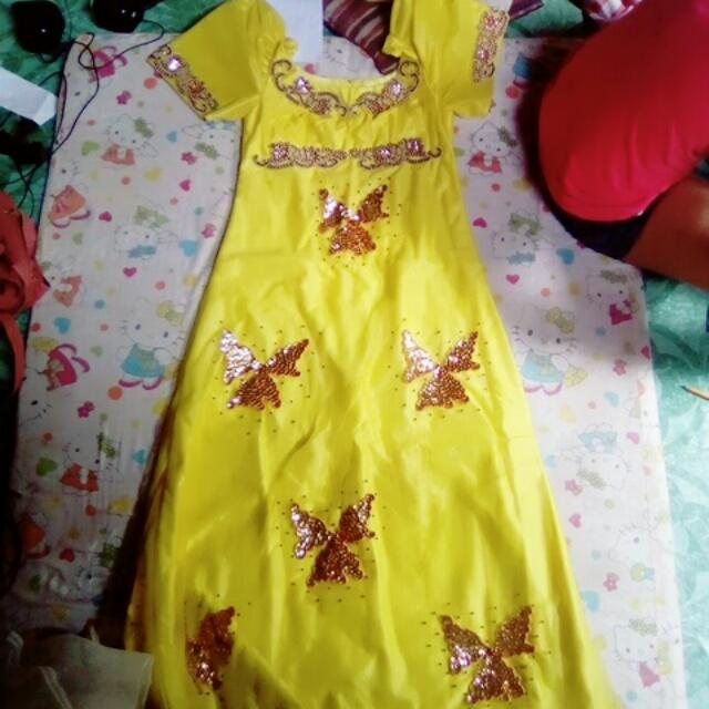 Pilipiniana Gown