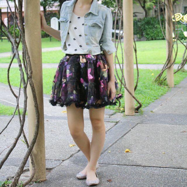 Poofy Black Tutu Skirt