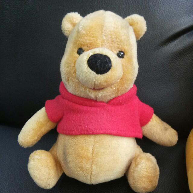 Pooh Small Stuffed Toy