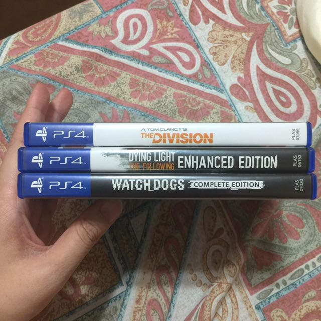 PS4 Games (3 For 3000)