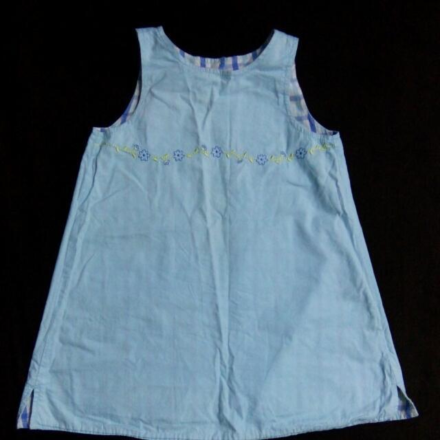 Reversible dress for kids