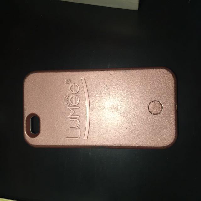 Rose Gold Lumee iPhone 6 Case
