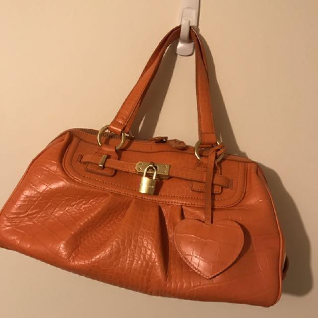 Samantha Thavasa Japan Leather Tote Bag