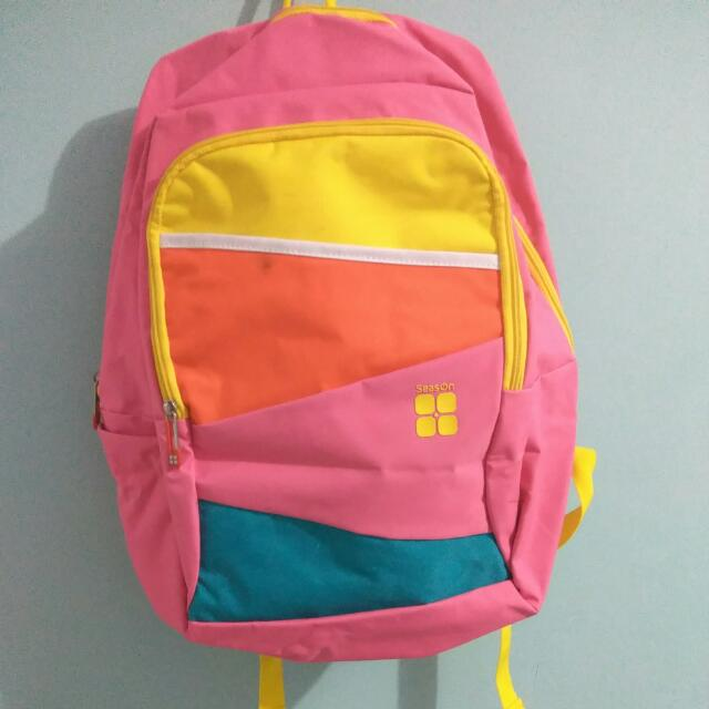 Season Pink Backpack